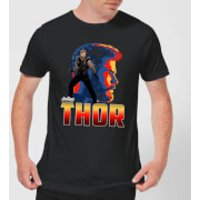 Avengers Thor Men's T-Shirt - Black - XL - Black