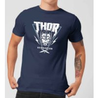 Marvel Thor Ragnarok Asgardian Triangle Men's T-Shirt - Navy - M - Navy