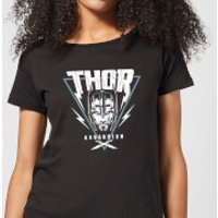 Marvel Thor Ragnarok Asgardian Triangle Women's T-Shirt - Black - M - Black