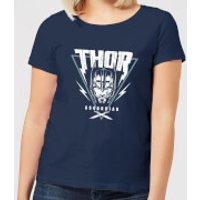 Marvel Thor Ragnarok Asgardian Triangle Women's T-Shirt - Navy - XL - Navy