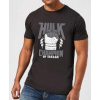 Marvel Thor Ragnarok Hulk Champion Men's T-Shirt - Black - L - Black
