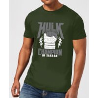 Marvel Thor Ragnarok Hulk Champion Men's T-Shirt - Forest Green - XL - Forest Green