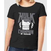 Marvel Thor Ragnarok Hulk Champion Women's T-Shirt - Black - S - Black