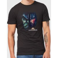 Marvel Thor Ragnarok Hulk Split Face Men's T-Shirt - Black - XL - Black
